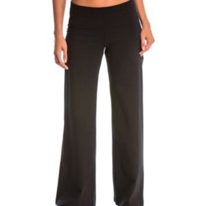 Hard Tail Rolldown wide leg pant W326 small